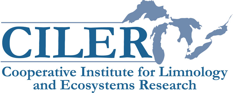 Cooperative Institute for Limnology and Ecosystems Research logo, click to go to its web page
