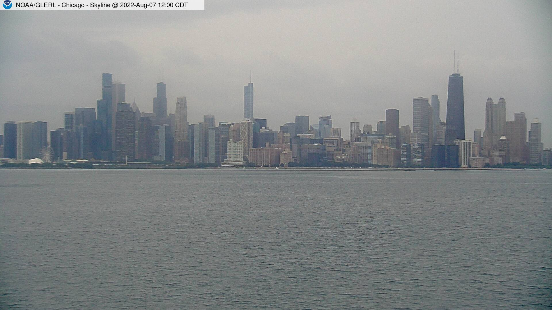 Chicago, IL Meteorological Data & WebCam - On the Harrison-Dever crib, 3 miles offshore