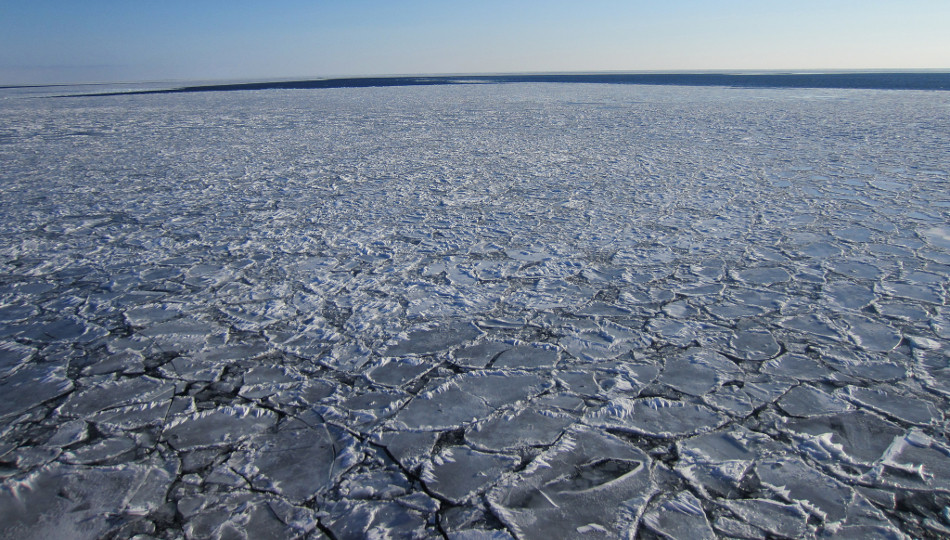 Click to learn more about how the lab works with ice cover on the Great Lakes.